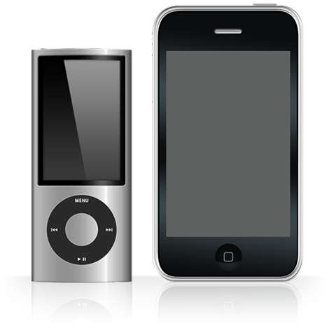 iPhone and iPod nano PSDs